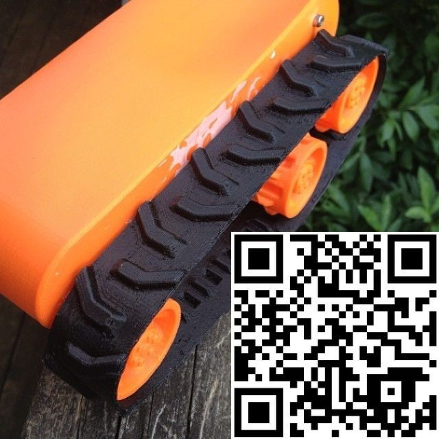 thingalert 10/15... While developing my own consumer 3DP #filamentextruder kit I also need to have some fun and test my soon to be released #TPU #rubberlike #filament, so this @Thingiverse release is number 10 of 15 that I´m sharing this week. Hope you enjoy it. BTW my goal with the filament extruder kit is that everyone can get the possibility to extrude even demanding materials like TPE/TPU with good tolerances at home, or in the small business, without huge investments. What is good…
