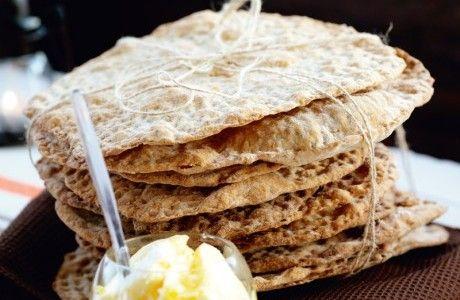 Knäckebröd  med honung och fänkål Receptbild - Allt om Mat
