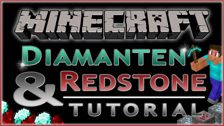 Minecraft Tutorial - DIAMANTEN & REDSTONE in wenigen Minuten farmen (Deu...