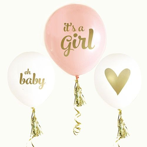 Its a Girl Baby Shower Decorations - Party City