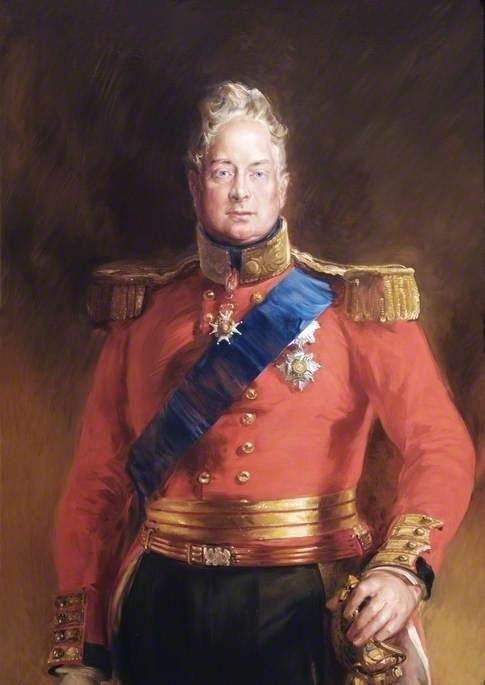 King William IV (1765–1837) uncle and predecessor to Queen Victoria