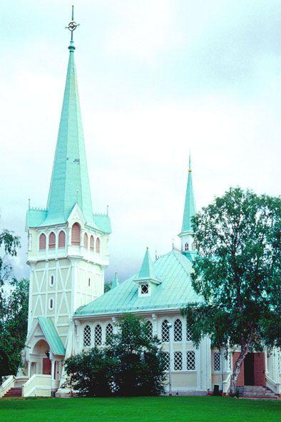 Jokkmokk kyrka  Sweden