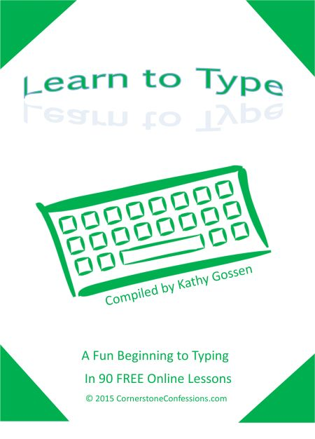 Learn to Type--A Fun Beginning to Typing in 90 FREE Online Lessons (Free Lesson Plan Printable)