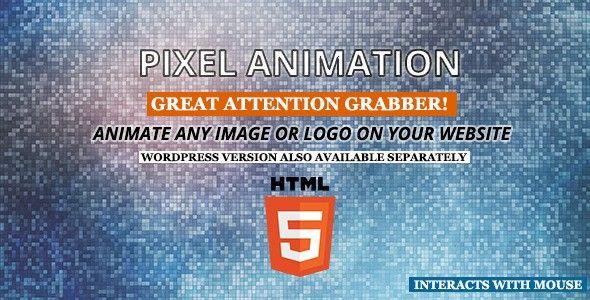 Pixel Animation HTML5 - Canvas
