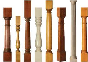 Great website for table legs. Wood Columns - Interior Wood Columns, Kitchen Island Columns, Fluted Columns, Turned Wood Columns