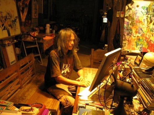 #BeyondWorkingSpace Made Budhiana in his studio