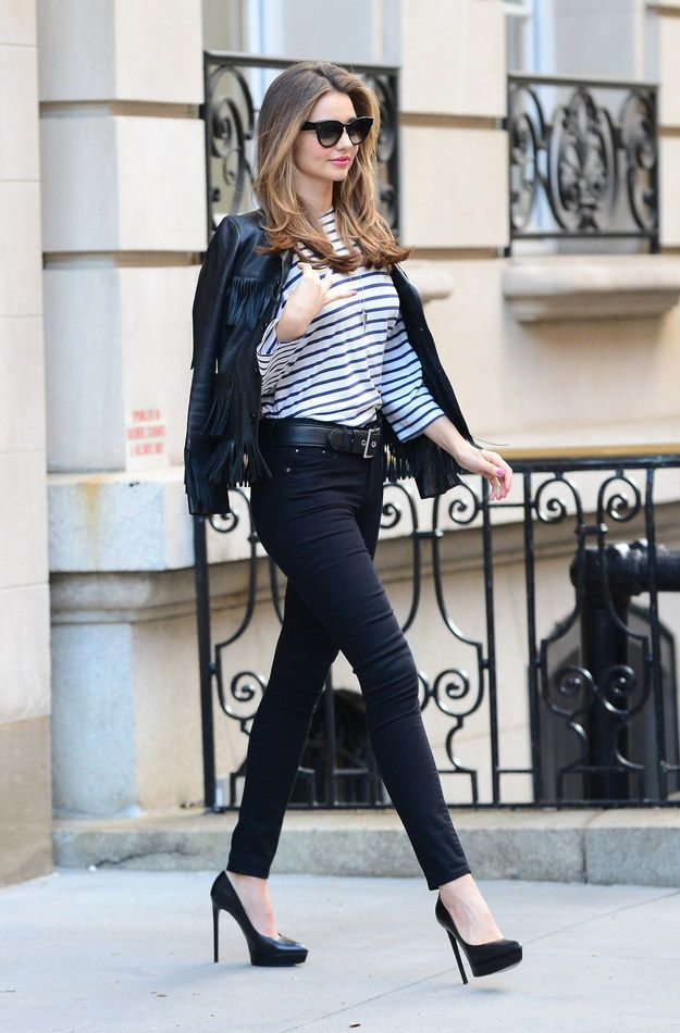 She can't help it. She's just naturally like this. | A Quick Reminder That Miranda Kerr Always Looks Devastatingly Perfect