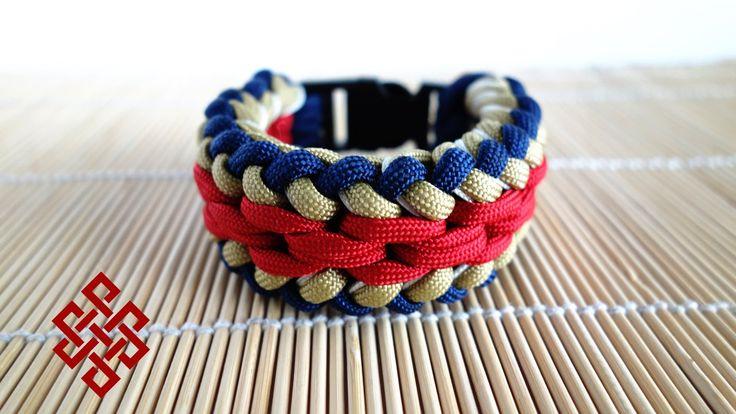Basket Weave Paracord Bracelet Tutorial : Sanctified paracord bracelet chainmail endless falls