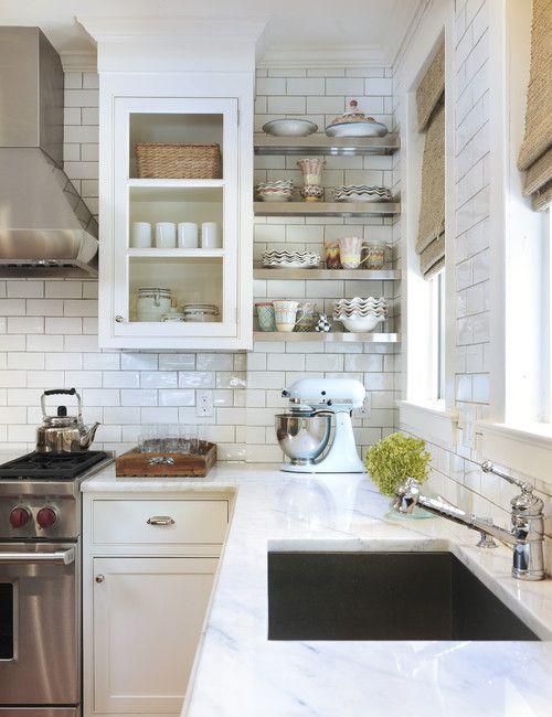 classic white: the kitchen