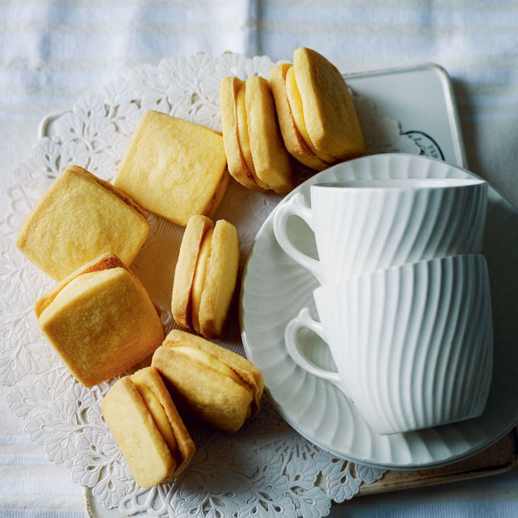 Home made custard creams. Easily turned into giant custard creams! Maybe add a little milk as was really crumbly and hard to roll out. Custard buttercream was yum though and would be delicious on a banana or apple cupcake