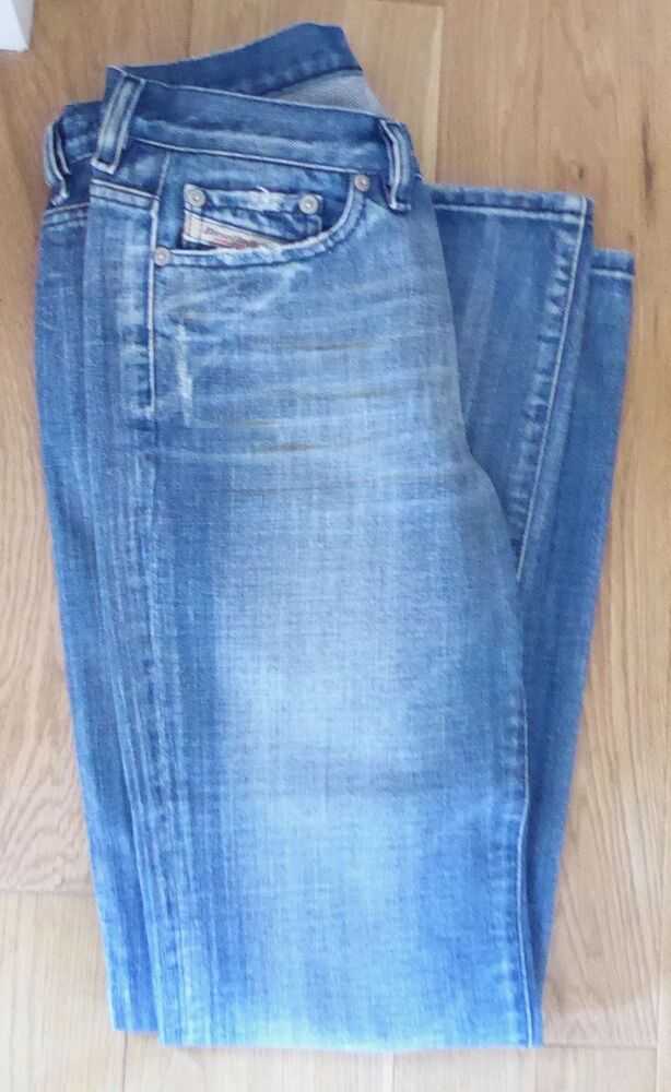 a5034838623 DIESEL JEANS 3 POCKET BUTTON FLY BOOT CUT JEANS 28W 3IL EX CON  fashion   clothing  shoes  accessories  womensclothing  jeans (ebay link)