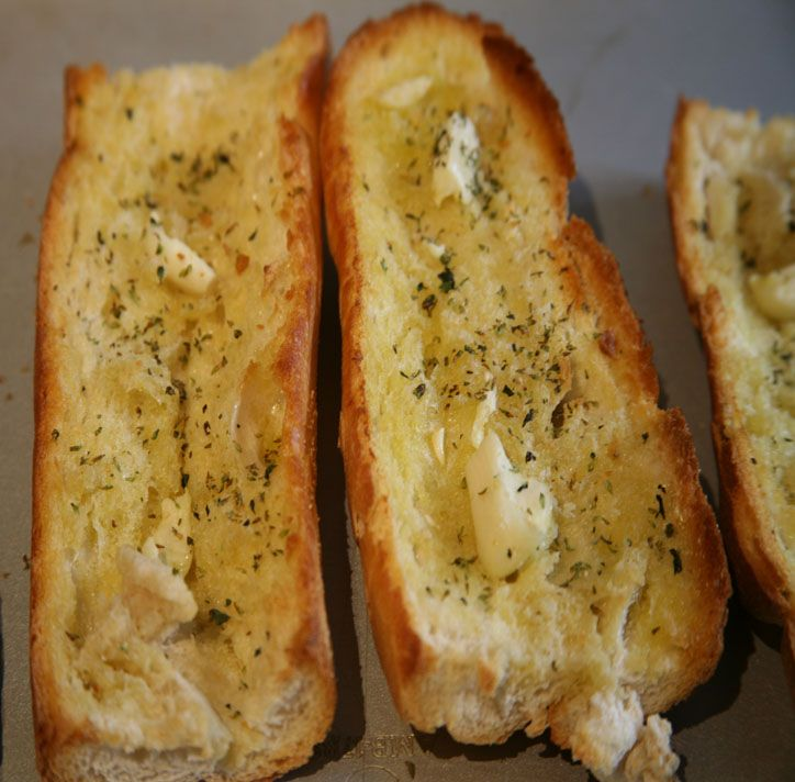 Just wanted to share this delicious recipe from Lidia Bastianich with you - Buon Gusto! Garlic Bread