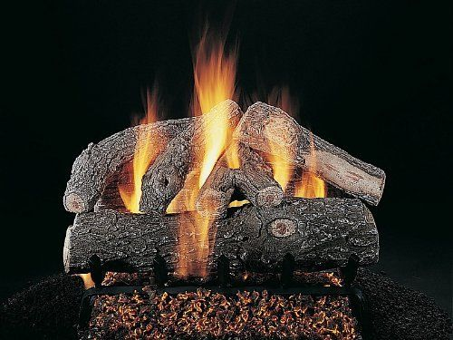 "Rasmussen Double Faced Frosted Oak 33"" DfS338 by Rasmussen. $430.00. Rasmussen adds rigid steel reinforcing rods for even greater durability. Requires Hearth Kit and Safety Pilot Kit (where required or desired) to make a complete set. Rasmussen uses a high-heat resistant, high alumina refractory cement with a maximum temperature rating of over 2300 degrees F. All of RasmussenaTM s logs are hand colored with a multi-step, up to six color process utilizing environmentally friendl..."
