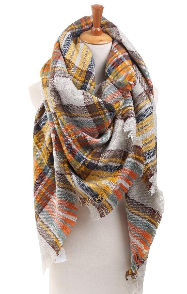 Plaid check tartan scarf - on sale for $7.99!