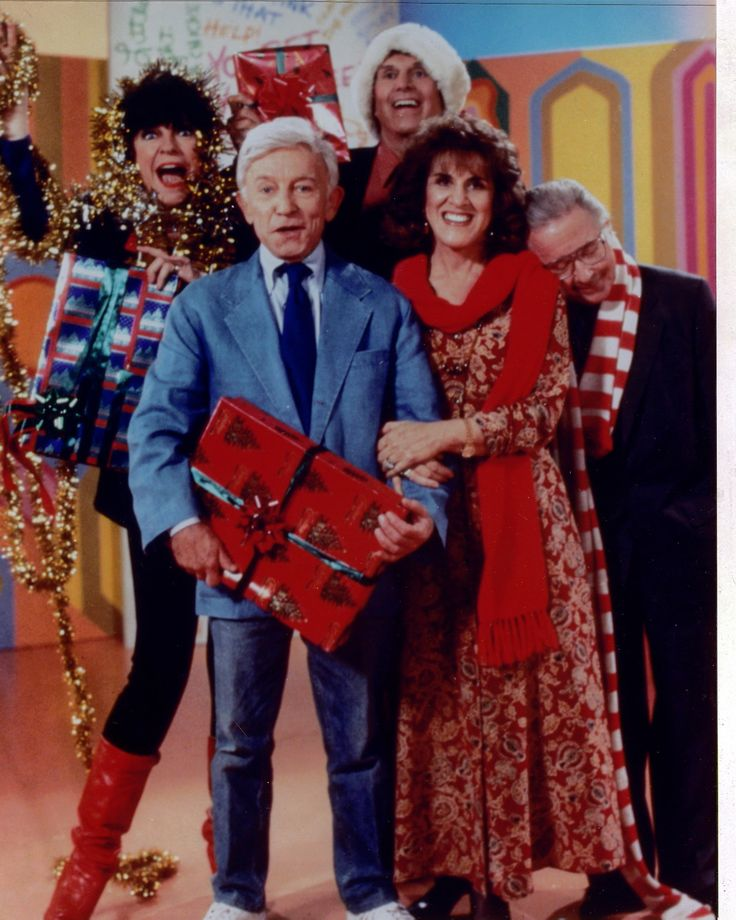 Christmas with cast of Laugh -In