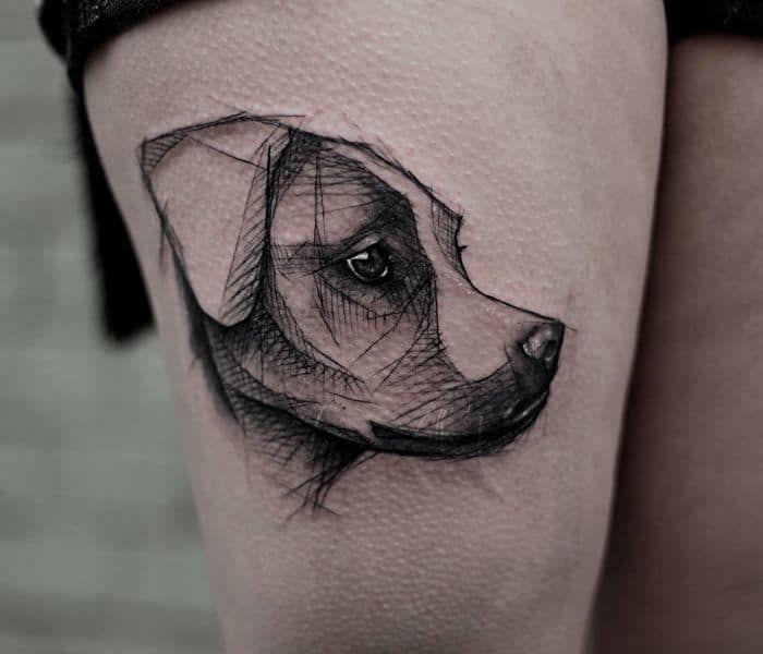 Las 25 mejores ideas sobre tatuajes de perro en pinterest - Es malo banar mucho a los perros ...