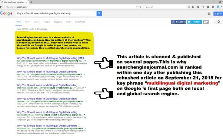proof-of-google-manipulation