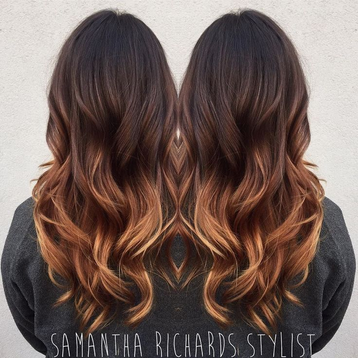 balayage with caramel highlights. Black Bedroom Furniture Sets. Home Design Ideas