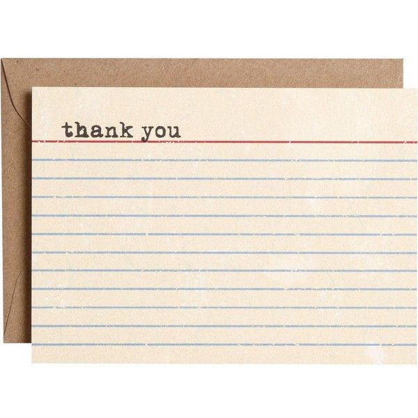 Vintage Thank You Notes ($13) ❤ liked on Polyvore featuring fillers, office, backgrounds, hintergrund and other