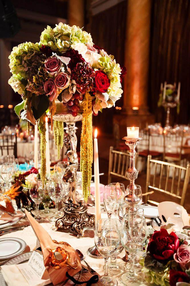 Elhaam & Mat's Labyrinth-Inspired, Venetian Ball Wedding