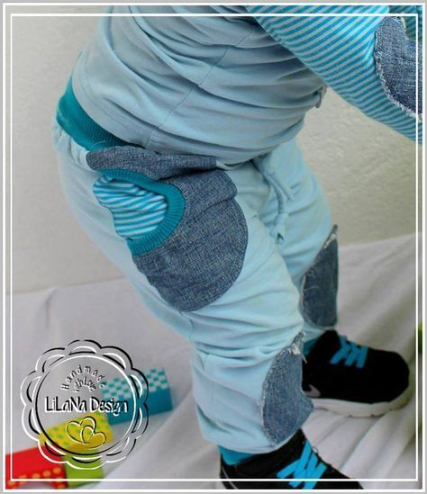 Jogging Rockers - free book kids pants sewing pattern - not English
