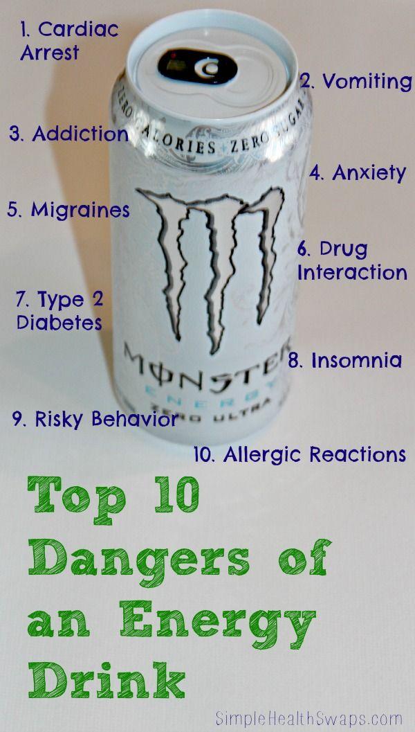 The danger of energy drinks essay