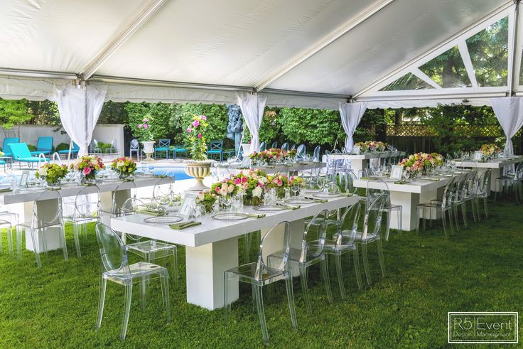 Outdoor Garden Bridal Shower By R5 Event Design Private