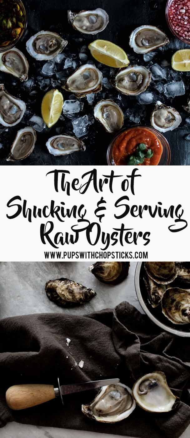Step by step guide on how to shuck raw oysters