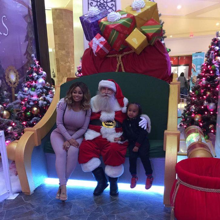 Blac Chyna Visits Santa, Debuts Post Baby Bod Weight Loss: Addresses Plastic Surgery Rumors