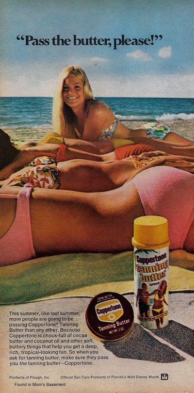 Coppertone ad, 1974