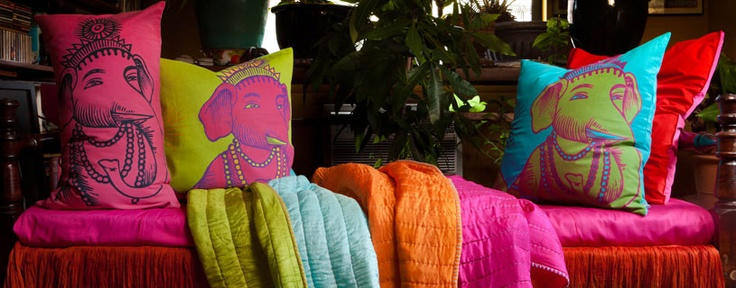 These pillows are awesome. Koko Company - Bright Pillows, Bedding, Throws & Floormats on Joss and Main