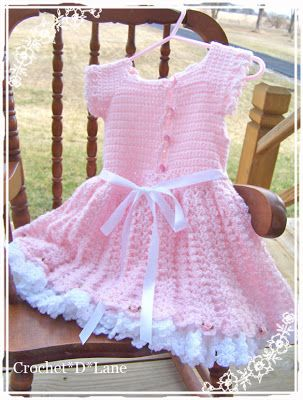 crochet d lane: Pretty in Pink