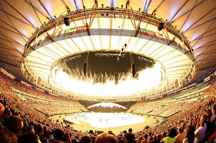 The end.   These Are The Best Images From The 2016 Olympics Opening Ceremony