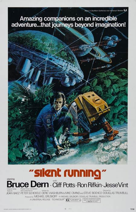 Silent Running.  Shout out to Mike & the Mechanics for their pop song tribute.