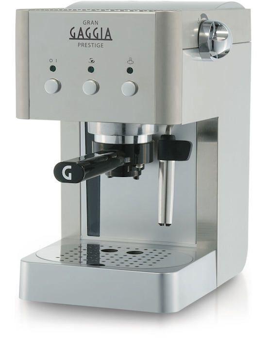GAGGIA | Macchina per caffè espresso – GRAN GAGGIA RI8327/08 [BROCHURE] - http://www.complementooggetto.eu/wordpress/gaggia-macchina-per-caffe-espresso-gran-gaggia-ri832708-brochure/