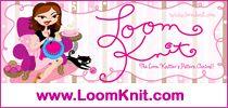 Convert knitting needle patterns into loom knitting patterns