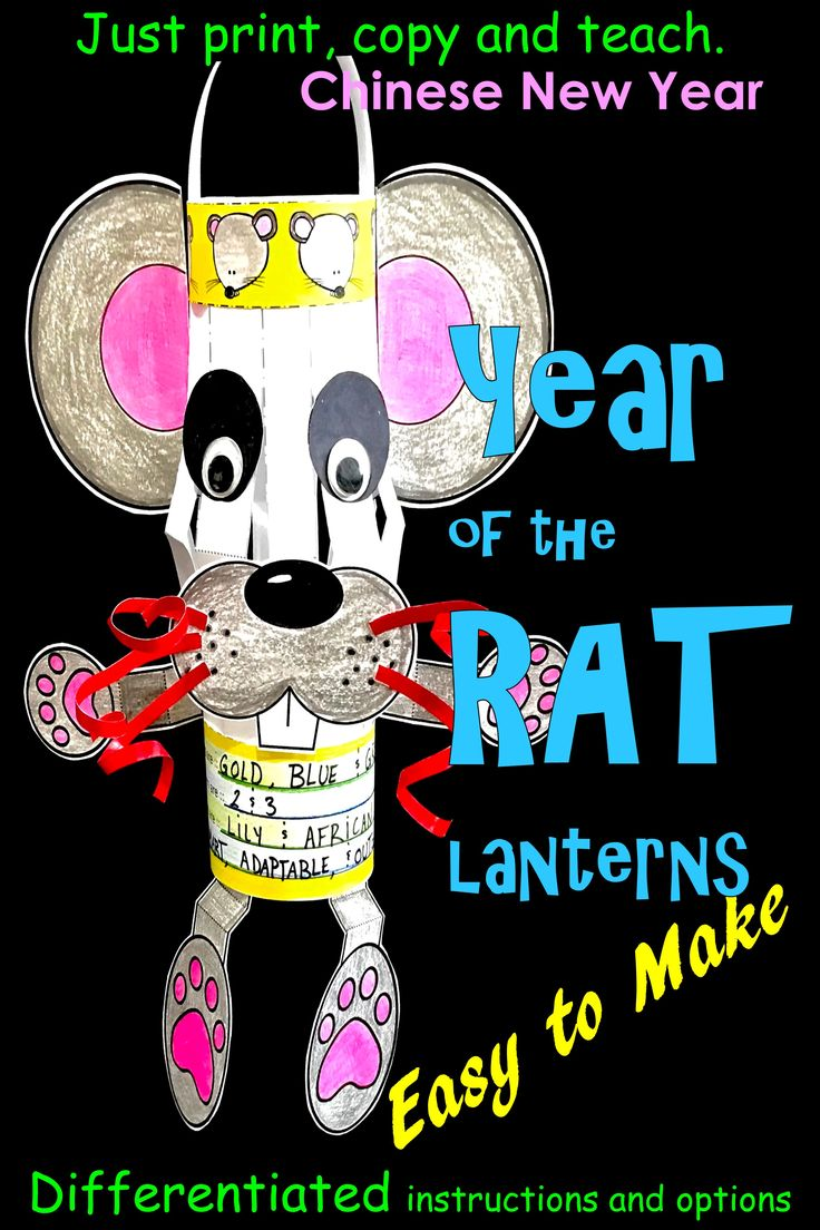 Chinese New Year 2020 Year of the Rat Chinese Rat