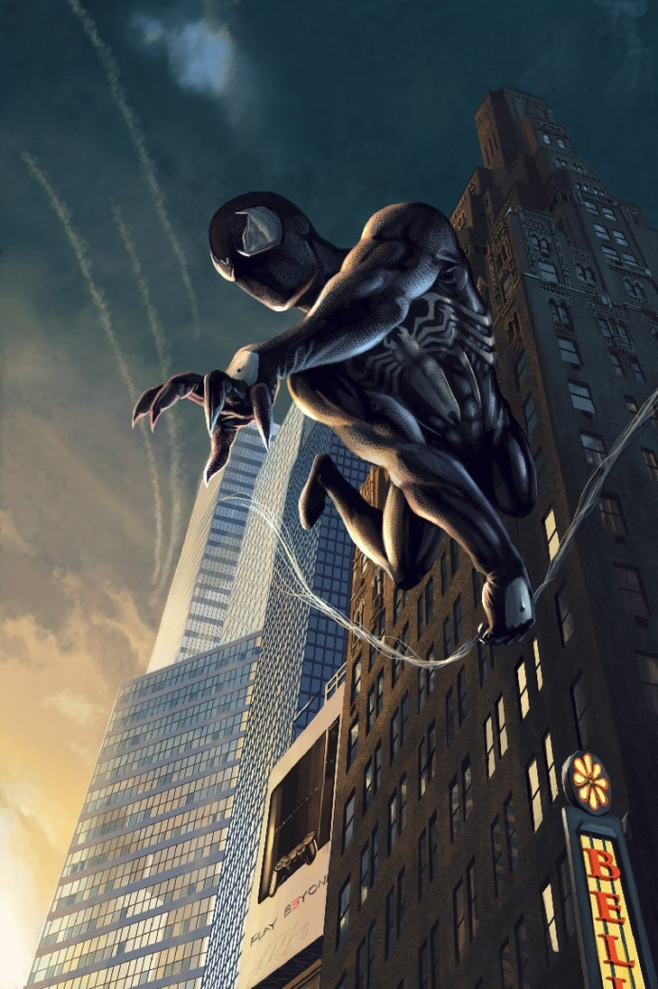 Top 25 ideas about Spider-man (black costume) on Pinterest ...