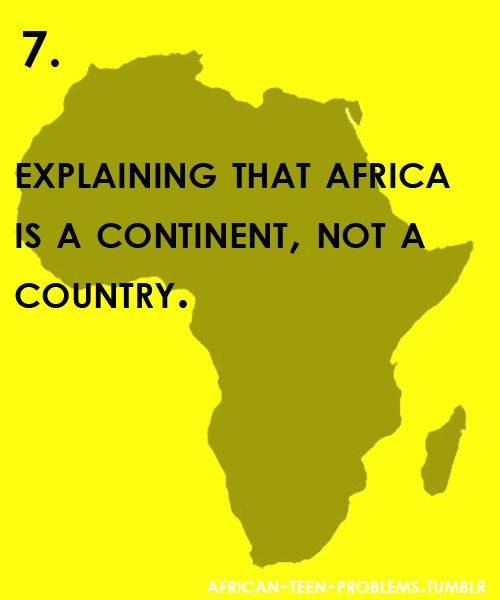 Problems that first generation Africans living abroad face everyday. See all previous problems | |...