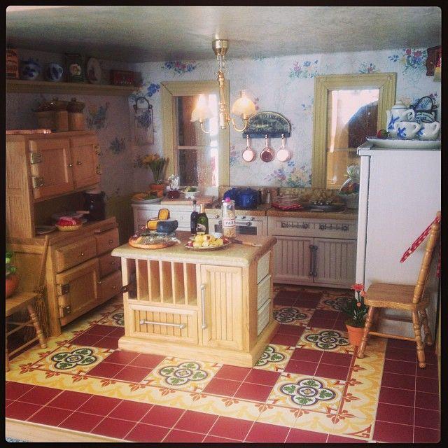 225 Best The Miniature Kitchen Images On Pinterest: (Shop Scenes) Images On Pinterest