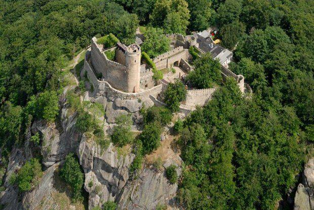 Castle - Zamek Chojnik, Poland
