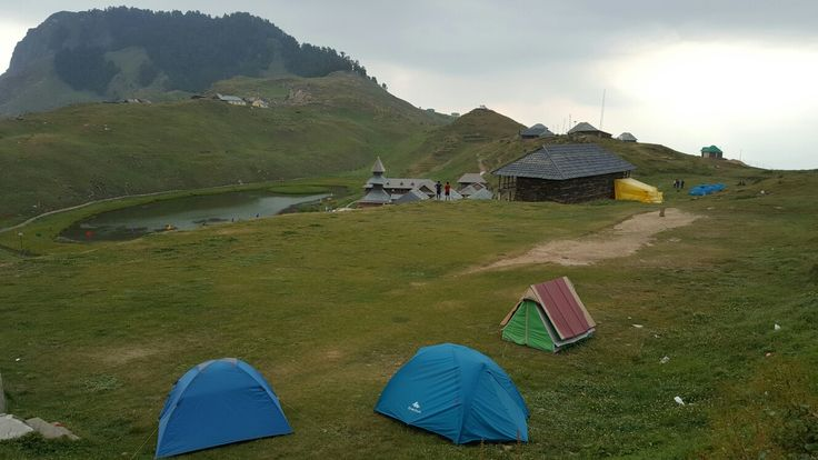 Camping at Parashar Lake