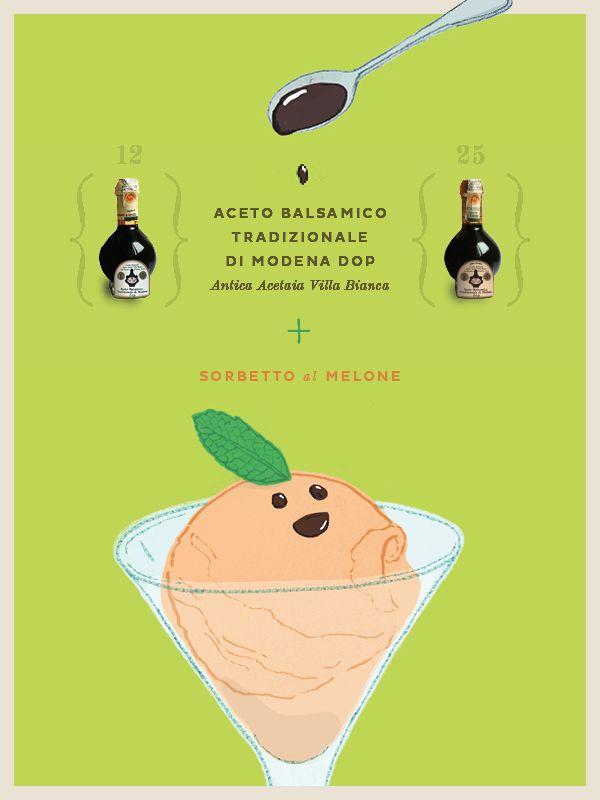#ABTM + sorbetto al melone