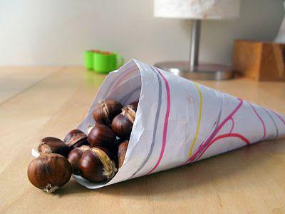 Maroni im Backofen rösten .:. mit Rezept .:. « Letizias Gaumenfreuden - maroni snack, roasted