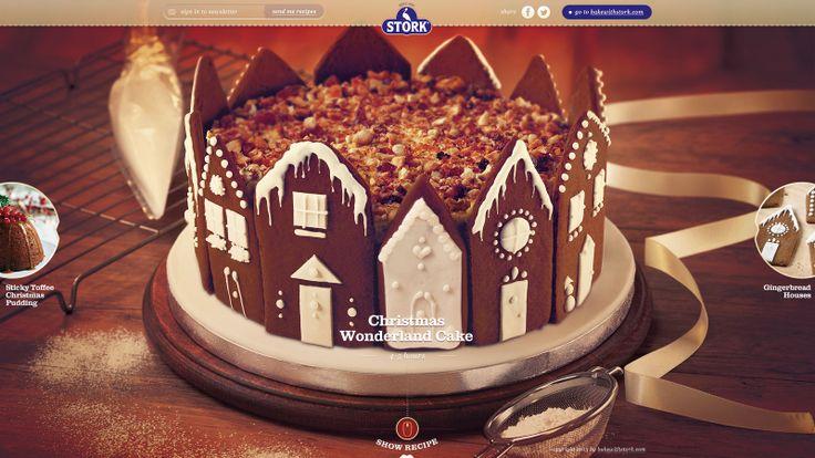 Mini serwis świąteczny dla Stork - brytyjskiego odpowiednika margaryny do pieczenia Kasia. Strona, uruchomiona tylko na okres Świąt Bożego Narodzenia, jest przedłużeniem kampanii prowadzonej przez tę markę w prasie i telewizji. Znajdziemy na niej trzy niesamowite przepisy na świąteczne ciasta o różnym stopniu trudności, opatrzone filmem instruktażowym. Strona wykonana w technologii Responsive Web Design wygląda świetnie zarówno na komputerze, jak i na urządzeniach mobilnych.