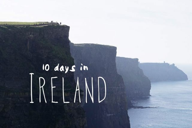 Our 10 day Ireland Road trip Itinerary - what to do, see and eat | Find & Map