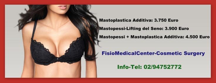 3.750 Euro per una Mastoplastica Additiva a Milano, chiedi subito info-tel: 02-94752772
