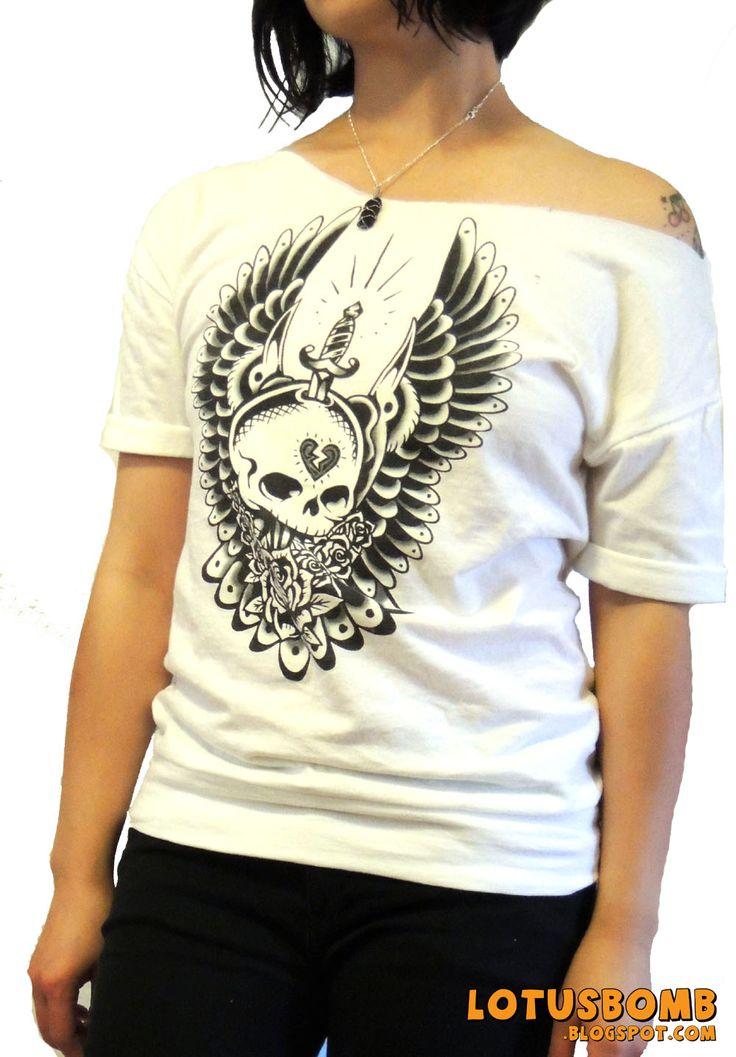 DIY refashion t shirt. Deconstructed from a mens xl tshirt ...