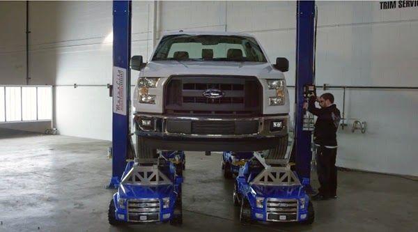 enjoymarket: Δείτε το Ford F-150 πατά πάνω σε 4 παιδικά αυτοκιν...