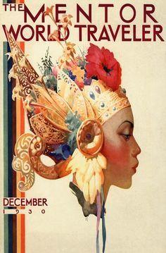 Bali vintage poster 1930